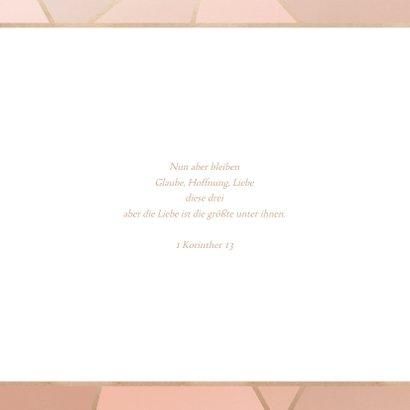 Save-the-Date-Karte zur Hochzeit geometrisch 2