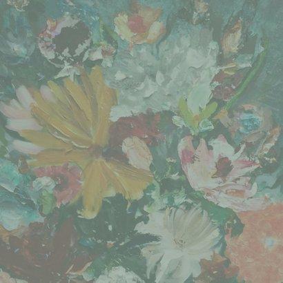 Schilderij Vreugde - bloemen 2