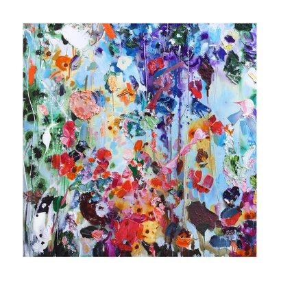 Schilderkunst bloemen Martine de Ruiter iets fraais 2