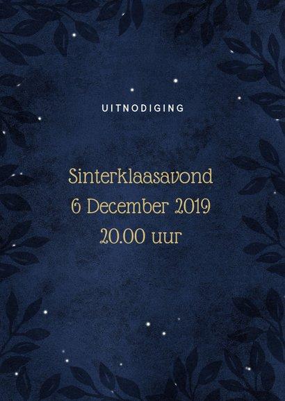 Sfeervolle uitnodiging Sinterklaas 2