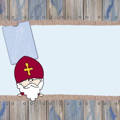 Sinterklaas en piet naamkaart 4k 2