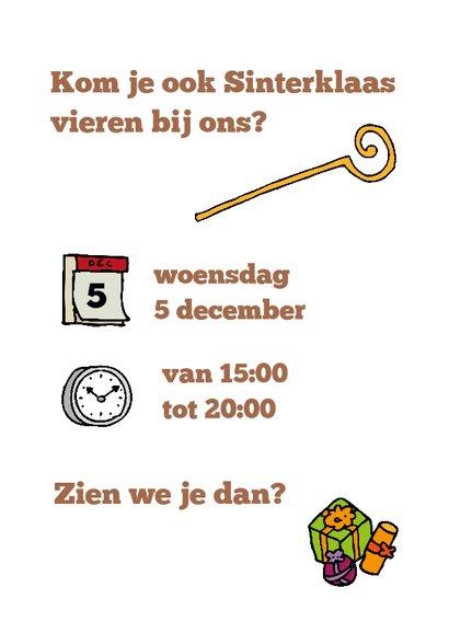 Sinterklaas kaart kruidnodiging 3