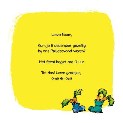 Sinterklaas Loeki schoen zetten - A 3
