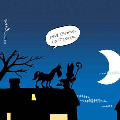 Sinterklaas strip Loeki op het dak - A 2