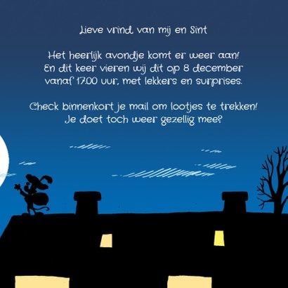 Sinterklaas strip Loeki op het dak - A 3