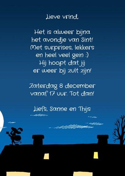Sinterklaas uitnodiging van Piet -A 3