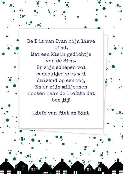 Sinterklaaskaart choco I 3