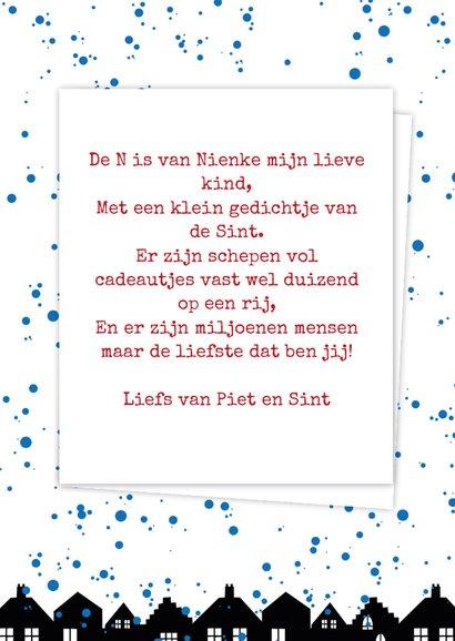 Sinterklaaskaart choco N 3