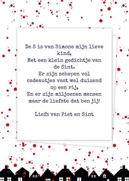 Sinterklaaskaart choco S 3
