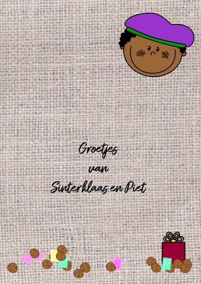 Sinterklaaskaart Pietje knutselen DIY 3