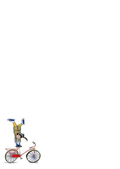 Sinterklaaskaart voor je gedicht met acrobatische pietjes  2