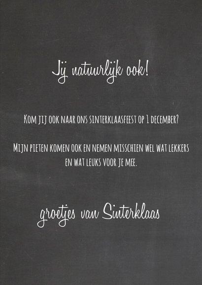 Sinterklaaskaart Zoet 3