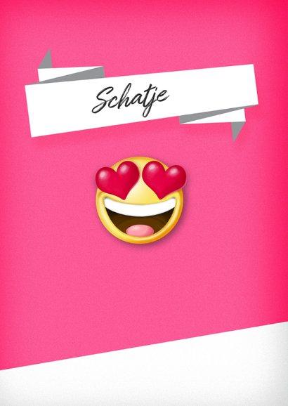 Smiley hartjes lekker ding Valentijnskaart 2