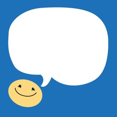 Sorry kaart Smiley boos 3