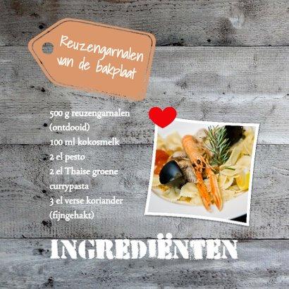 Speciaal recept voor-isf 2