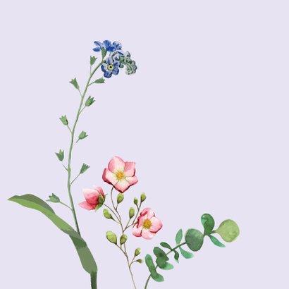 Speciaal voor jou - bloemen - zomaarkaart 2