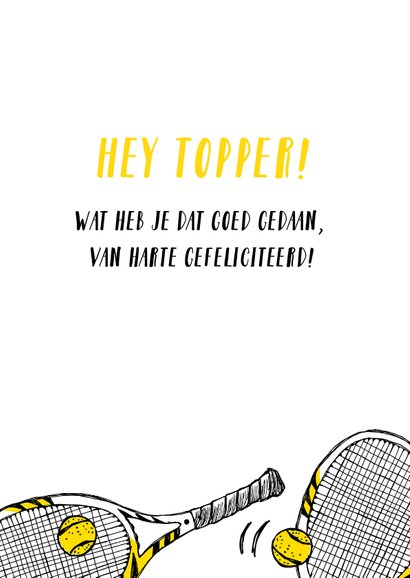 Sportkaart tennis  3