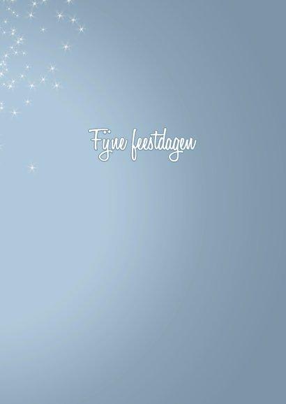 Sprankelende kerst blauw 3