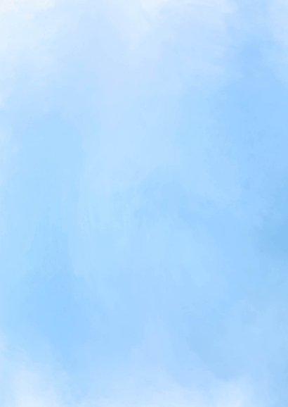 Sterkte als dan waterverf blauw 2