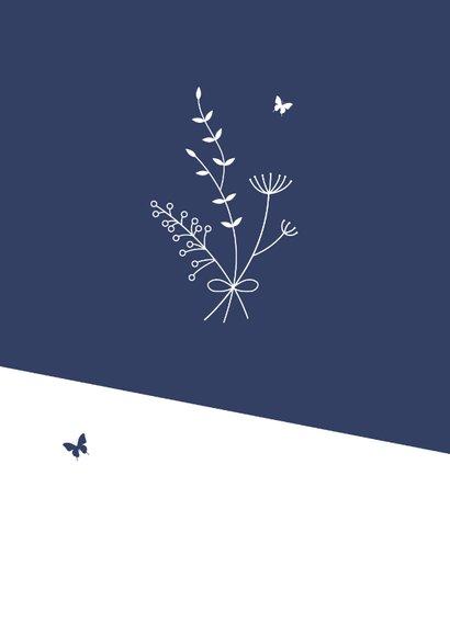 Sterkte - Boeket met vlinders 2