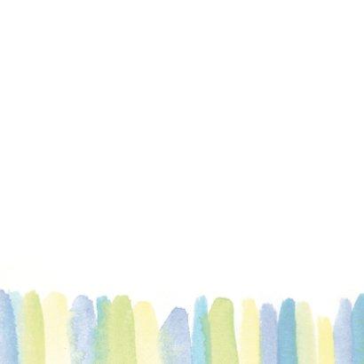 Sterkte kaart aquarel strepen 2