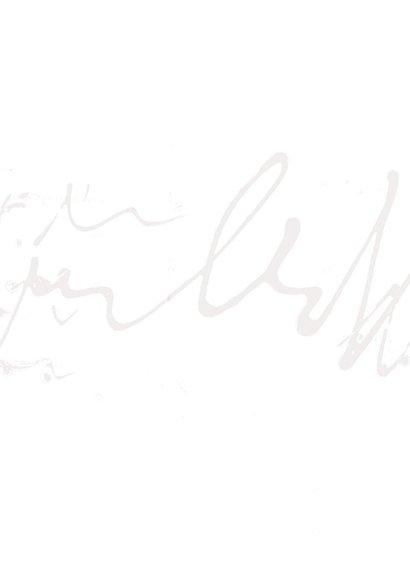 Sterkte kaart scribble vlinder 2
