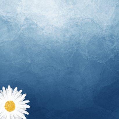 Sterkte kaart stijlvol moeilijke tijd waterverf bloemen 2