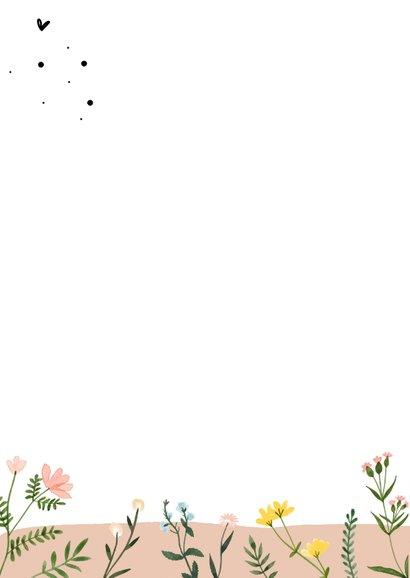 Sterkte kaarten   Liefs met wilde bloementjes  2