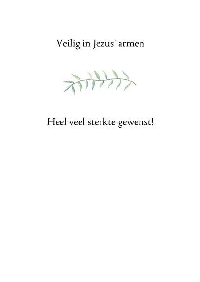Sterkte kaartje bijbeltekst - WW 3