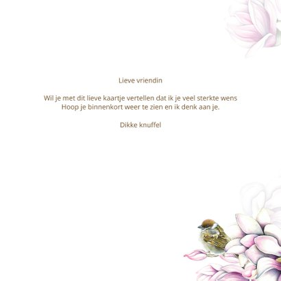Sterkte magnolia vogeltjes 3