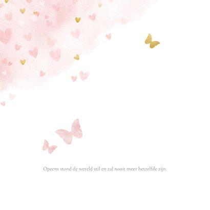 sterkte met roze en gouden hartjes 2