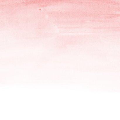 Sterkte - spreuk watercolor bloemen 2