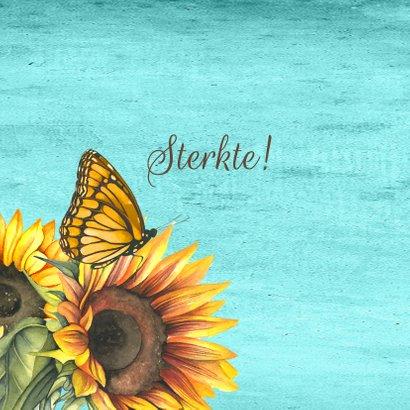 Sterkte zonnebloemen label 2