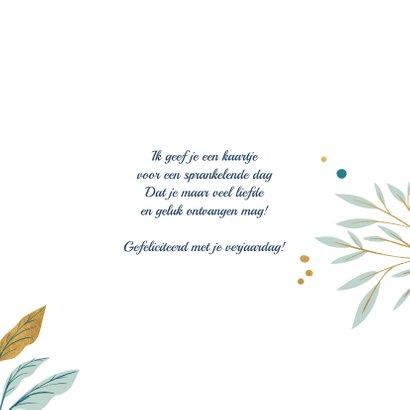 Stijlvolle verjaardagskaart met stippen 3