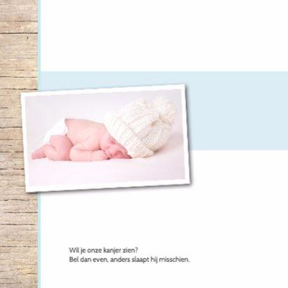 Stipt geboortekaartje Valentijn 2