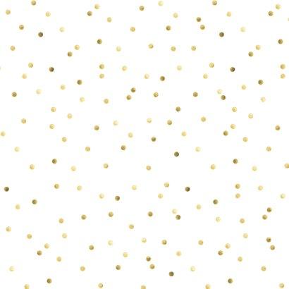 Stoere beren kaart met gouden confetti 2