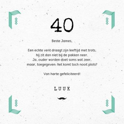 Stoere verjaardagskaart man cheers verjaardag typografie  3