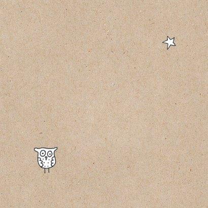 Suc 6 kaart met uil en ster 2