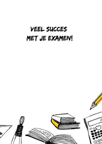 Succes studie examen 3