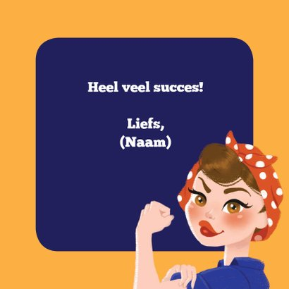 Succeskaart You Can Do It! 3
