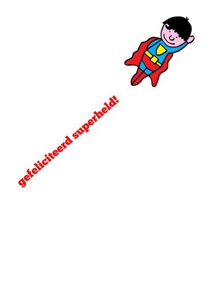 Superman jarige jongen 3d  3