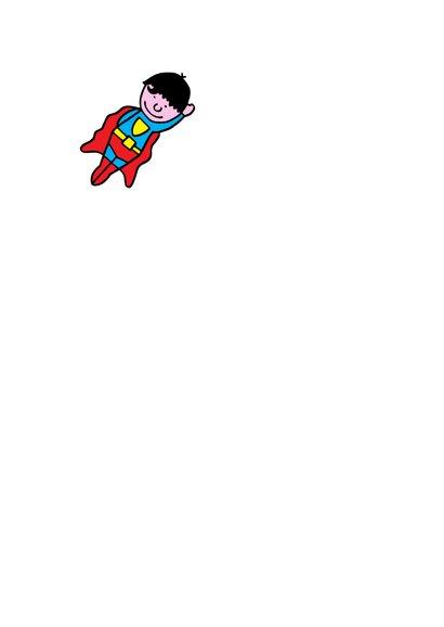 superman jarige jongen  2