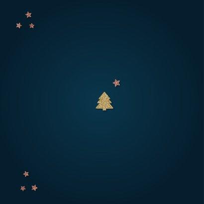 Trendy kerstkaart Merry everything & Happy always 2