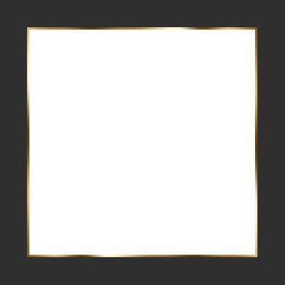Trouwkaart 4x foto en hart Achterkant