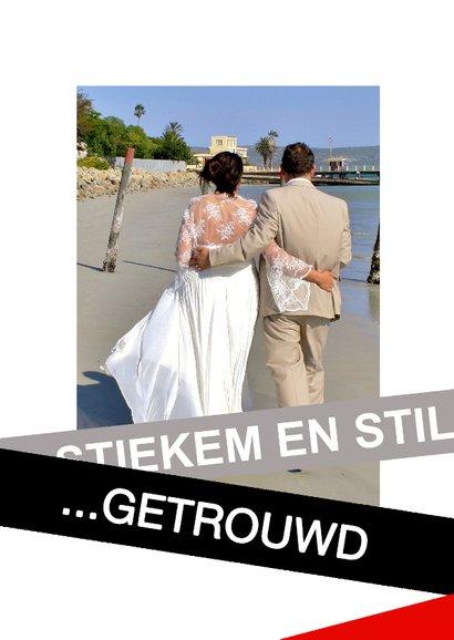 trouwkaart heel Stiekem getrouwd 2