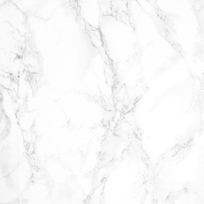 Trouwkaart marmer eucalyptus botanisch stijlvol klassiek Achterkant