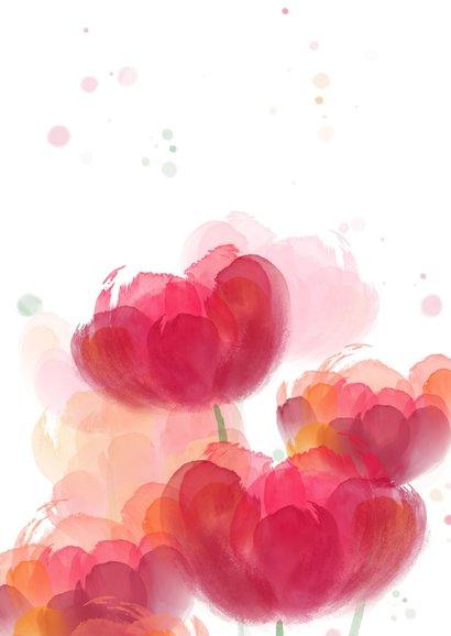 Tulpen aquarel 2