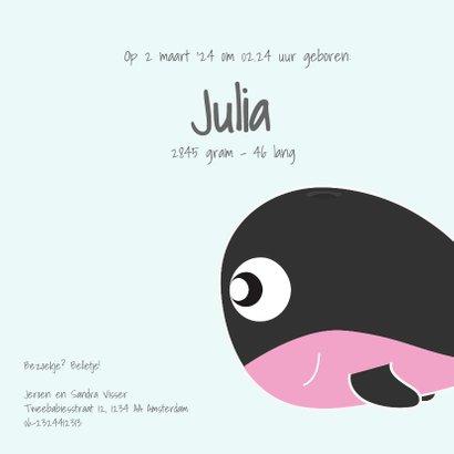 Tweelingkaart jongen meisje met schattige dieren 3