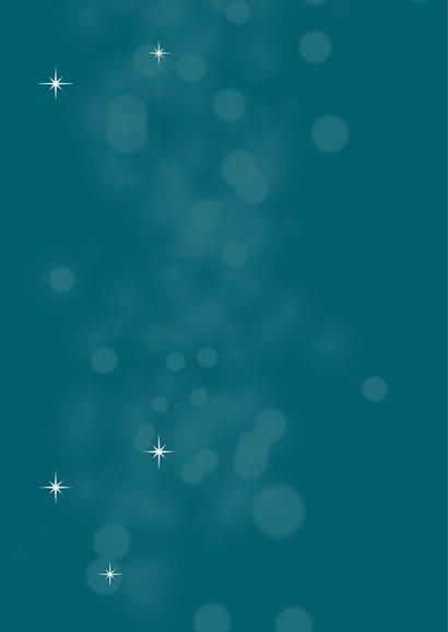 Typografische kerstkaart met sterren 2