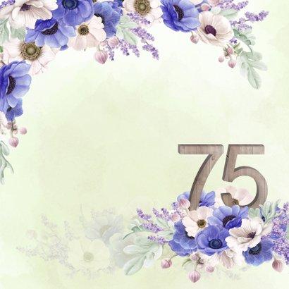 Uitnodiging 75 jaar anemonen 2